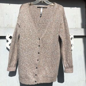 Sweaters - Kenzie Cardigan Sweater elbow patches XL